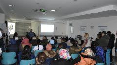 Bursa'da sağlık çalışanlarına koronavirüs ile ilgili eğitim verildi
