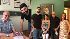 Uzm. Dr. Erçin Özüntürk ve Akın Boşnak proje ortaklığı anlaşması imzaladı