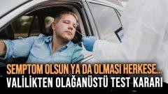 Antalya Valiliği'nin Test Kararı Sosyal Medya'yı Ayağa Kaldırdı